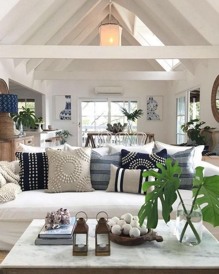 Contemporary Homedecor Ideas: 35+ Modern Rustic Coastal Living Room Decorating Ideas